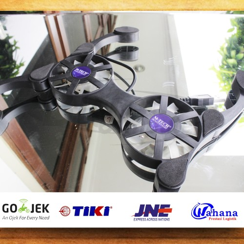 Foto Produk Cooling Fan Laptop Kepiting/ Lipat (Kipas Laptop, Pendingin Laptop) dari bluekomputer
