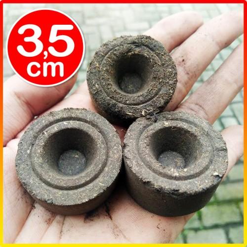 Foto Produk Peat pellet mirip jiffy gambut diameter 3.5cm pengganti tanah dari Biji Benih