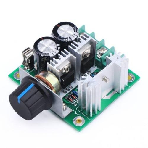 Foto Produk Dimmer dc 10-40v 10A 400w for motor dan led pwm controller speed light dari LED HOUSE