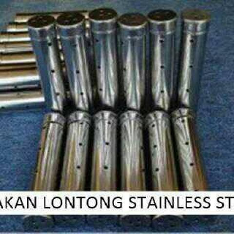 Foto Produk Cetakan Lontong Besar 20cm Bahan Stainless Steel Tebal Anti Karat dari EL STORE 88