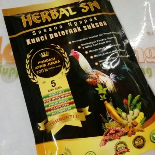 Foto Produk jamu ayam sasana ngapak herbal sn 100gr dari lagashoping