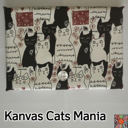 Foto Produk Kain Kanvas Cats Mania dari canvas_me