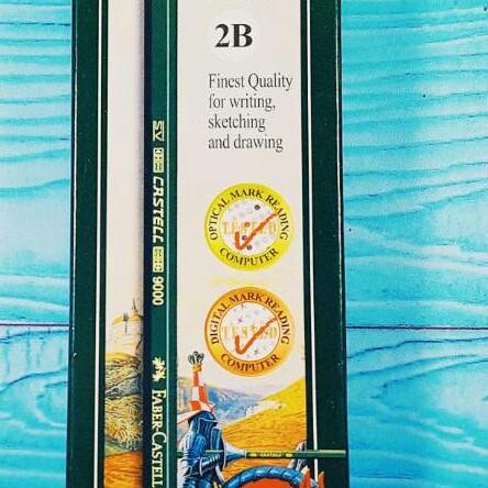 Foto Produk Pensil Faber Castell 2B 9000 Set 12pcs dari ACC ANDI