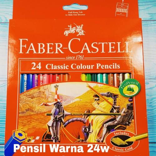 Foto Produk Pensil Warna Faber Castell 24 Classic dari ACC ANDI
