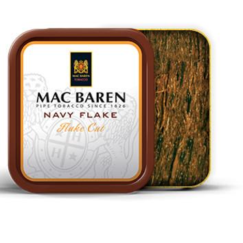 Foto Produk Tembakau Pipa Mac Baren Navy Flake (Tin 50 gr) Pipe Tobacco Cangklong dari Javan Cigars