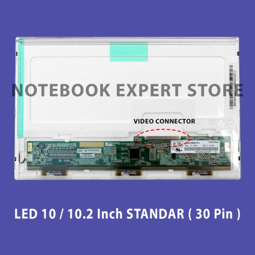 """Foto Produk Layar LCD/LED 10.2"""" Soket Lebar ASUS Eee PC 1015 Series dari notebookexpert"""