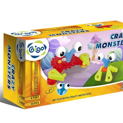 Foto Produk Gigo Crazy Monsters Educational Toys 1+ dari Gigo Toys