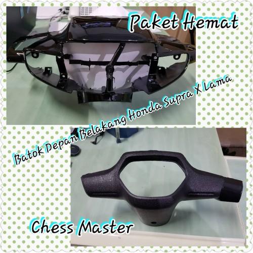 Foto Produk Batok Depan Belakang Honda Supra X Lama (Paket Hemat) dari Chess Master