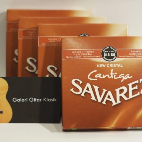 Foto Produk Savarez New Cristal Cantiga 510CR - Senar Gitar Klasik Nylon dari Galeri Gitar Klasik