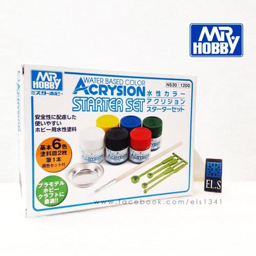 Foto Produk Mr Hobby Acrysion Starter Set dari eLs_shop