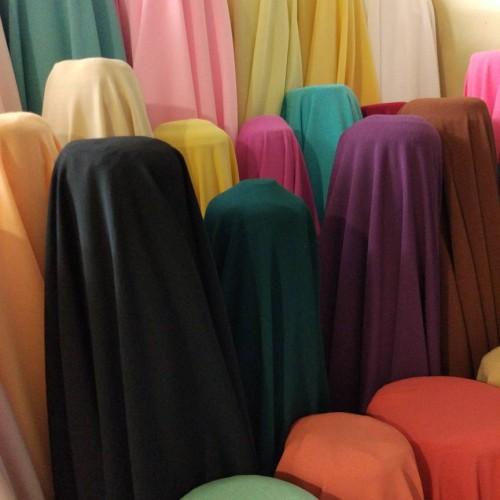 Foto Produk kain/bahan sifon ceruti diomand - Tulis Nomor/Wrn dari silfa qarin