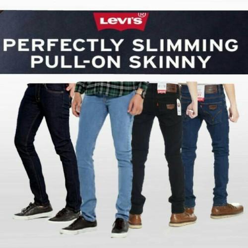Foto Produk celana panjang jeans slimfit levis dari agha clothing store