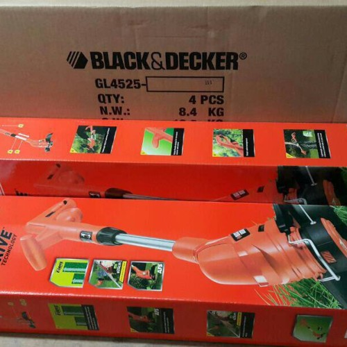 Foto Produk Black & Decker GL4525 Grass Trimmer / Potong Rumput Listrik 450 W dari TOKO BESI TIMUR JAYA