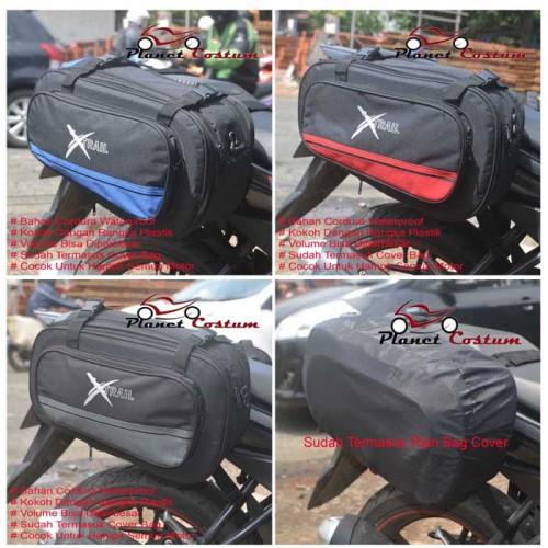 Foto Produk Side Bag Neo Xtrail / Tas Motor Multifungsi Untuk Touring Mudik Harian dari Hobbymotor