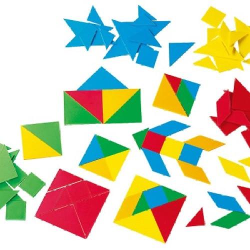 Foto Produk Gigo Plastic Tangram Alat Peraga Matematika dari Gigo Toys