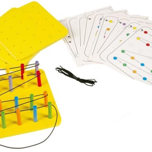 Foto Produk Gigo Peg Board Set Mainan Edukasi PAUD dari Gigo Toys