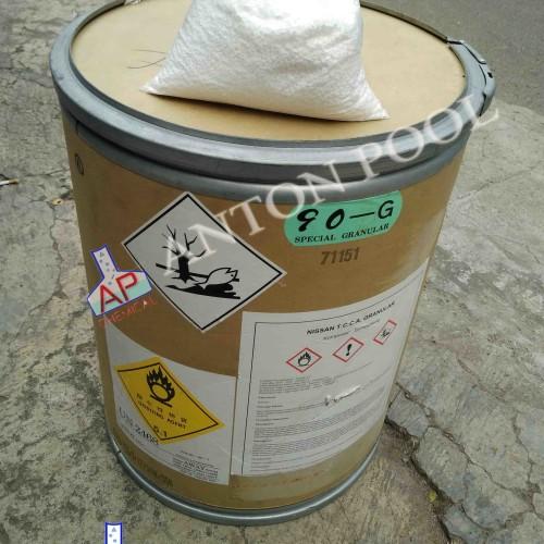 Foto Produk Chlorine Granular 90% Jepang / Kaporit Granular 90% Jepang (pack 1kg) dari Anton Pool