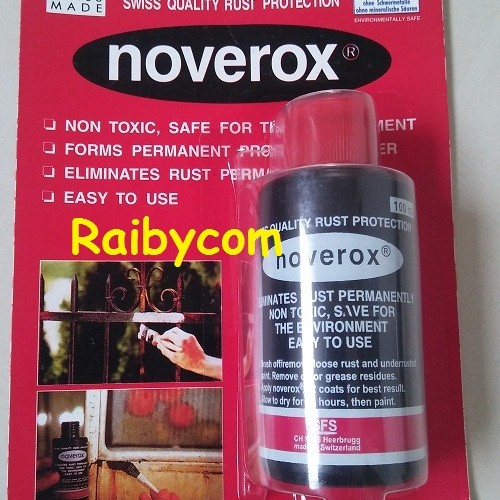 Foto Produk Noverox Cairan Pembersih Karat / Anti Karat Impor Swiss dari Raibycom