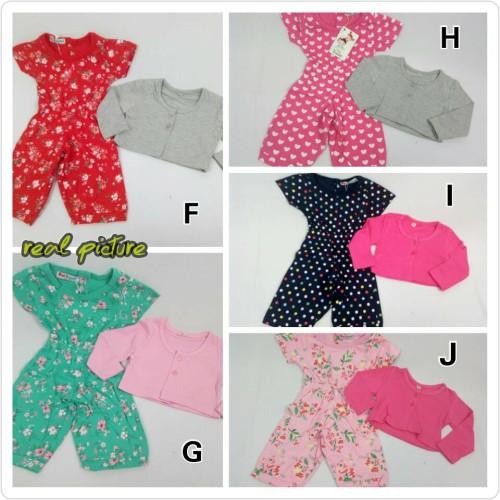 Foto Produk Baju Bayi / Setelan Bayi / Jumpsuit + Cardigan (OK 46) dari NOALA - Mom & Kids Store