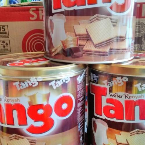 Foto Produk Tango Wafer Kaleng 350 gram dari Ugi Online