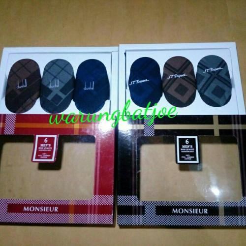 Foto Produk sapu tangan pria/sapu tangan pria isi 6 katun murah dari warungbatjoe
