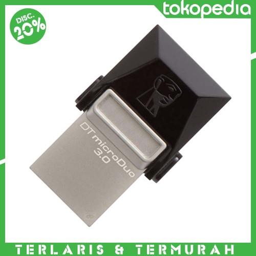 Foto Produk Kingston DataTraveler MicroDuo USB 3.0 Micro USB OTG 32GB -Flash disk dari JON SON