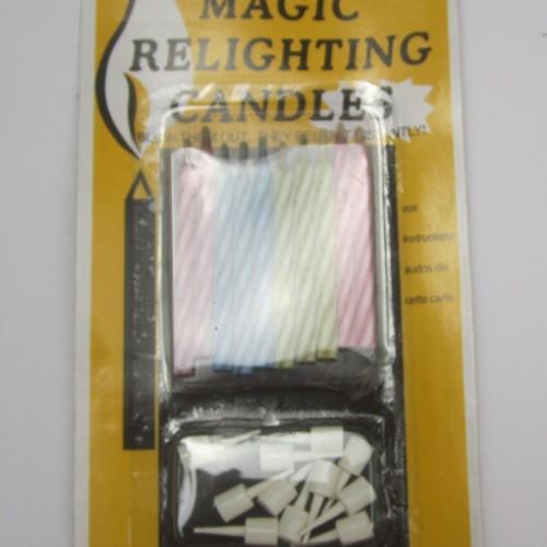 Foto Produk Lilin Magic / Lilin tidak gampang mati / Lilin ulang tahun 1 pack dari Mandiri Plastik
