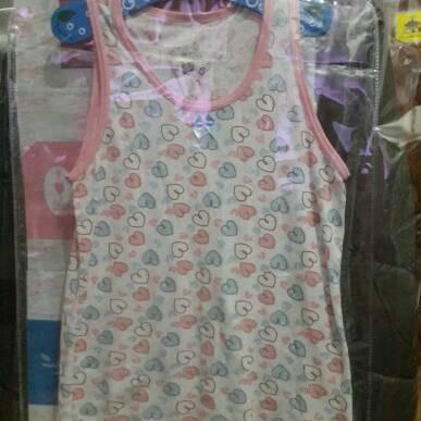 Foto Produk Baju Anak Kaos Tank Top Perempuan Cewek Import dari Muttaqin's  Store