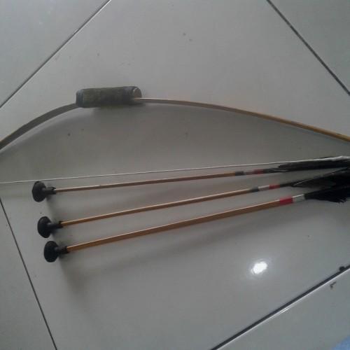 Foto Produk Busur panah bambu/khusus anak anak dari aksesorishopcom