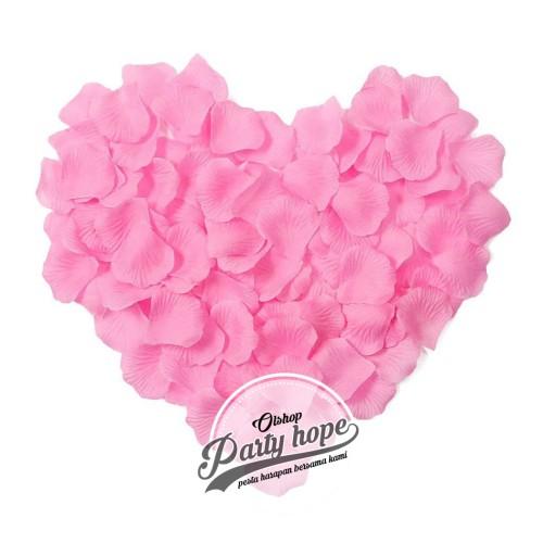 Foto Produk Rose Petals pink / Kelopak Bunga Mawar pink / Rose Petals pink dari PARTY HOPE 2