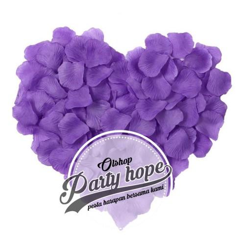Foto Produk Rose Petals ungu tua / Kelopak Bunga Mawar ungu/ Rose Petals ungu dari PARTY HOPE 2