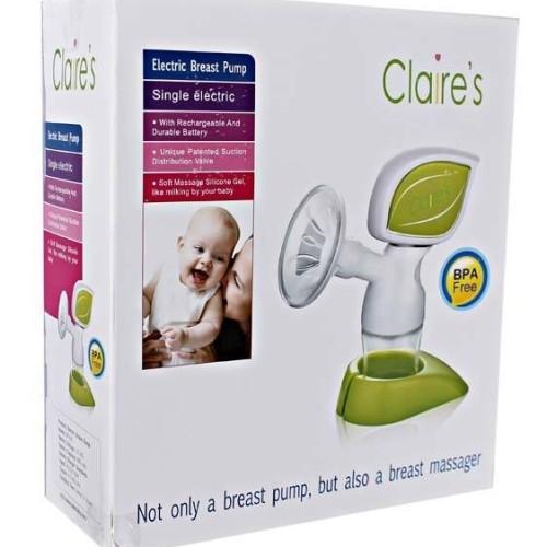 Foto Produk Breast Pump Electric Claire's / claire ASI GBP A20 Elektrik pompa dari bobo baby shop