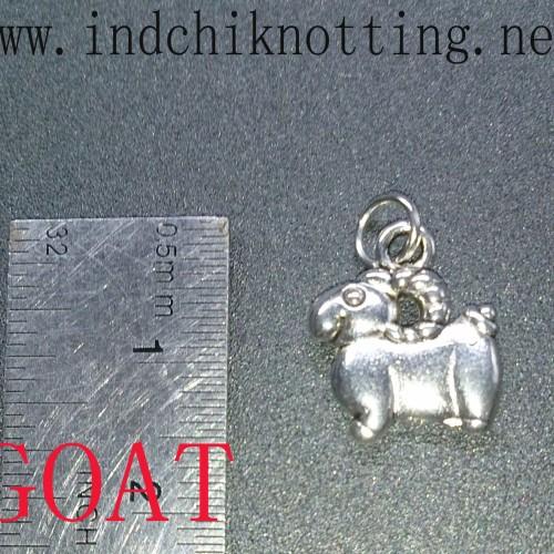 Foto Produk Liontin Shio Kambing Silver Alloy Produk Impor dari IndChiKnotting