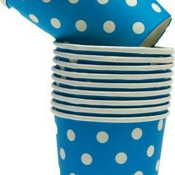 Foto Produk Souvenir Ultah / Gelas Polkadot biru dari PARTY HOPE 2