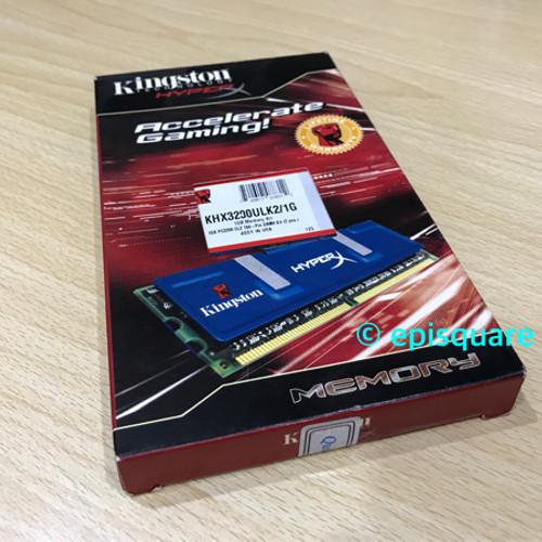 Foto Produk Kingston Hyper X DDR 1 ic TCCD 512MBx2=1GB dari episquare
