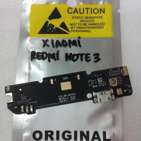 Foto Produk Papan Board Ui Charger + Mic Xiaomi Redmi Note 3 Original dari SPAREPARTHP