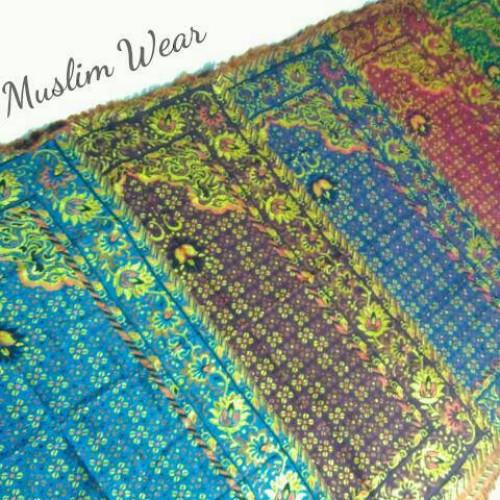 Foto Produk Sajadah Katun Turki Benang Emas - Size Besar   Oleh-oleh Haji/Umrah dari Syarief Muslim Wear