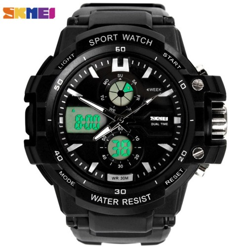 Foto Produk Jam Tangan Pria / SKMEI / 0990 / Dual Time / Casio SKMEI / 100% Orig S dari Watch Me Collection