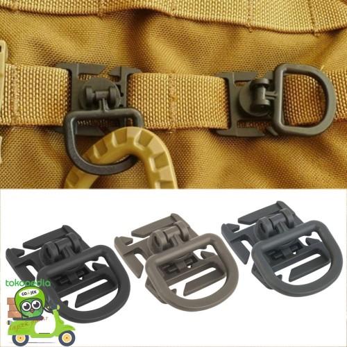 Foto Produk Backpack Buckle - D Ring Rotation - Kemping - Traveler - Anak Gunung dari Toko Andalan Kaki Lima