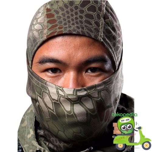 Foto Produk Masker Full Face - Motor - Airsoft Gun - Model Ninja - Hitam dari Toko Andalan Kaki Lima
