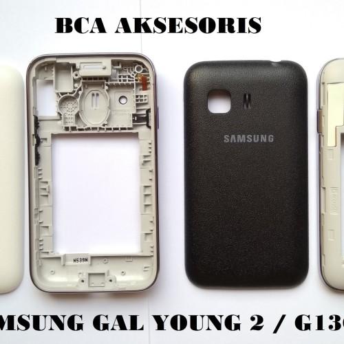 Foto Produk CASING SAMSUNG GALAXY YOUNG 2 - G130 HOUSING FULLSET ORIGINAL dari BCA AKSESORIS