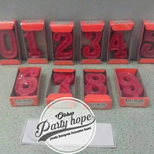 Foto Produk Souvenir Ultah / Lilin Angka / Lilin Ultah / Lilin Angka Wina dari PARTY HOPE 2