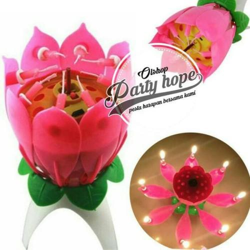 Foto Produk Souvenir Ultah / Lilin Lotus / Lilin Mekar / Lilin Bunga / Lilin dari PARTY HOPE 2