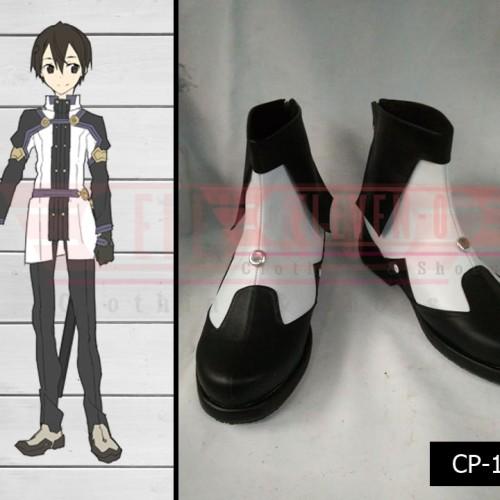 Foto Produk Sepatu Cosplay Sword Art Online Ordinal Scale Kirito dari Eleven-O