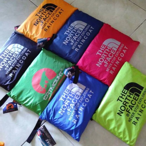 Foto Produk Raincoat Jas Hujan Gunung The North Face Jack Wolfskin Fashionable dari Berkah Jaya Outdoor