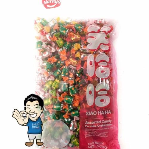 Foto Produk Naraya Xiao Ha ha Assorted Candy- Permen aneka rasa 500g dari IndoFresco