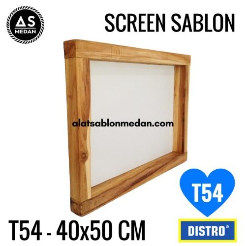 Foto Produk SCREEN SABLON T54 40x50 (KAYU) dari ALAT SABLON MEDAN