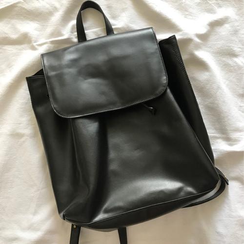 Foto Produk Cottonink black backpack dari mizzchix