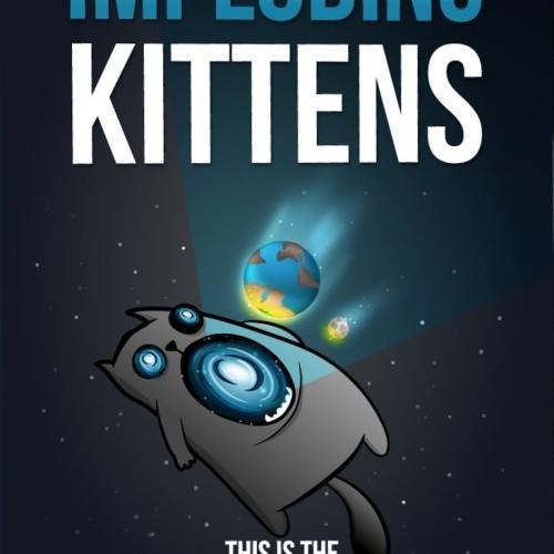 Foto Produk Imploding Kittens - Exploding Kittens Expansion ( Original ) dari Toko Board Game