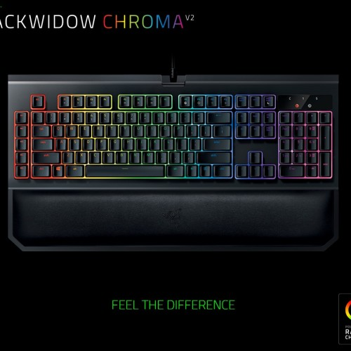 Foto Produk Razer BlackWidow Chroma V2 RGB Mechanical Gaming Keyboard dari ARMAGGEDDON